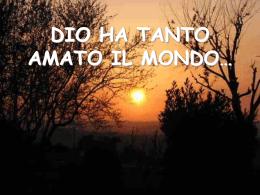 dio ha tanto amato il mondo - Monestir de Sant Benet de Montserrat