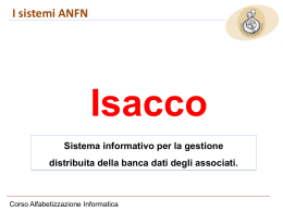 IsaccoWebConference - Associazione Nazionale Famiglie