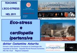 Eco-stress e cardiopatia ipertensiva