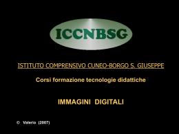 Le immagini digitali - Istituto Comprensivo Borgo San Giuseppe