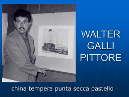 WALTER GALLI PITTORE