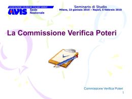 Compiti della Commissione Verifica Poteri
