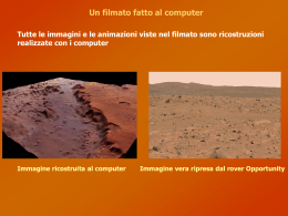 Riepilogo e considerazioni sul filmato (Power Point)