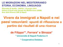 deFilippo-Ferrara-Strozza - Istituto di Studi sulle Società del