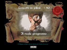 n. 40 - IL REALE PROGRESSO