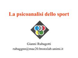 La Nascita della Psicoanalisi dello Sport