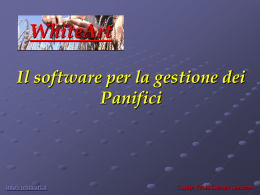 Software gestione panifici