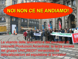 sciopero - Fisac Cgil in Unicredit