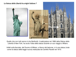 the statue of liberty - Accademia di qualitologia