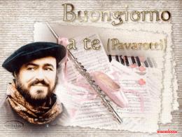 Buongiorno a te (Pavarotti) Micromedia
