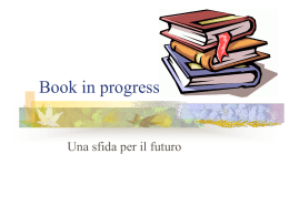 Book in progress