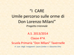 Progetto_I_CARE - Istitutocomprensivopanicale.it