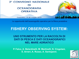 Fishery Observing System (FOS)