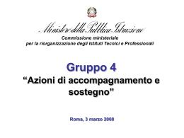 presentazione - Archivio Pubblica Istruzione