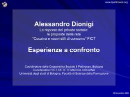 CONSUMO DI COCAINA - Università degli Studi di Bologna