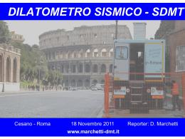 SDMT Equipment - D. Marchetti