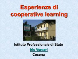 Esperienze di cooperative learning - Istituto Pedagogico