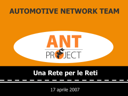AUTOMOTIVE NETWORK TEAM