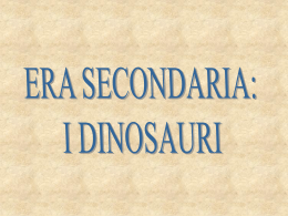L`Era Secondaria