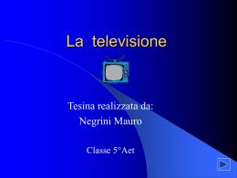 La televisione - IIS Alessandrini