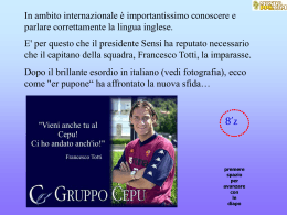 l`inglese by totti