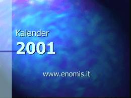 De Nieuwe Originele LADA Kalender 2001