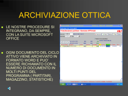 Archiv. Ottica - reporterprofessional.it
