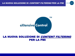 Presentazione di eXtensive Control (in PowerPoint)