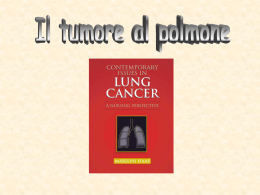 Cancro al polmone - Liceo Scientifico Einaudi