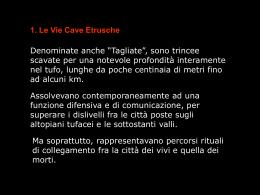 Le Vie Cave