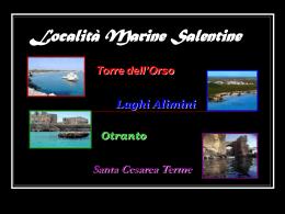 Località Marine Salentine