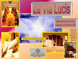 Via Lucis della nuova chiesa (Frati Cappuccini