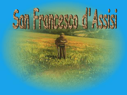 San Francesco d`Assisi