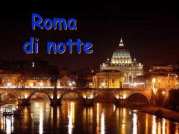 Roma di notte - Partecipiamo.it