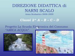"""La Scuola Elettronica del Consumo """"AMICA ACQUA"""""""