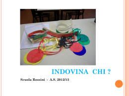 Indovina chi Rossini seconde - Centro Risorse