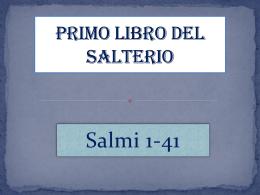 3. Primo Libro del Salterio