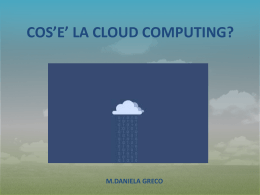 Cloud - Cossa