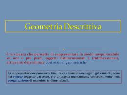 Proiezioni ortogonali - Prof. PORFIDO Francesco