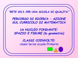Ricerca-azione - Istituto Comprensivo Manoppello