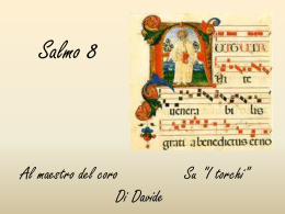 Salmo 8 – ppsx – don Angelo