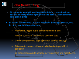 AUTO ELETTRICHE powered by john green