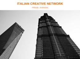 Progetto Italian Creative Network