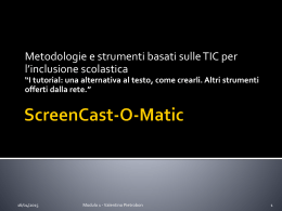 ScreenCast-O-Matic - Valentino Pietrobon