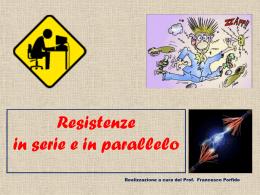 Resistenze serie