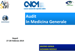 AUDIT ARSAN GENUA RIZZOLO Definitiva 2014