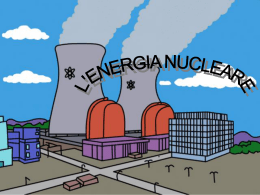 l`energia nucleare
