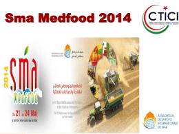 Presentazione SMA MED FOOD