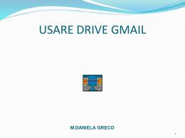 Usare drive gmail