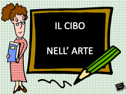 EXPO 2015- Il Cibo Nell`arte - Power Point